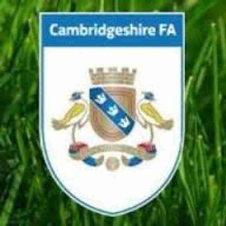 Cambs County Cup Draws