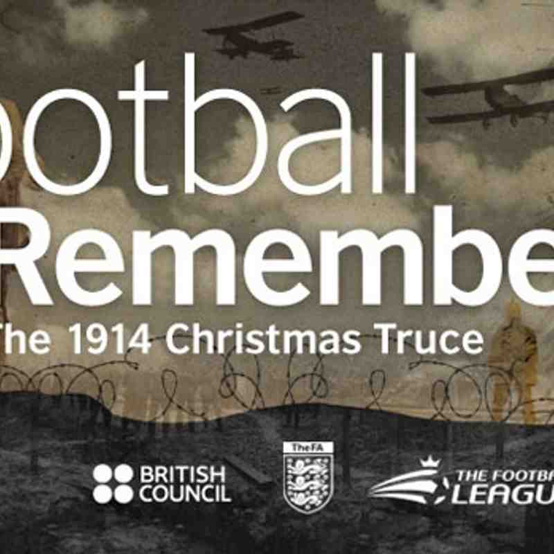 Football Remembers - 2014