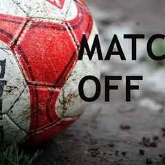 Senior Cup Final postponed
