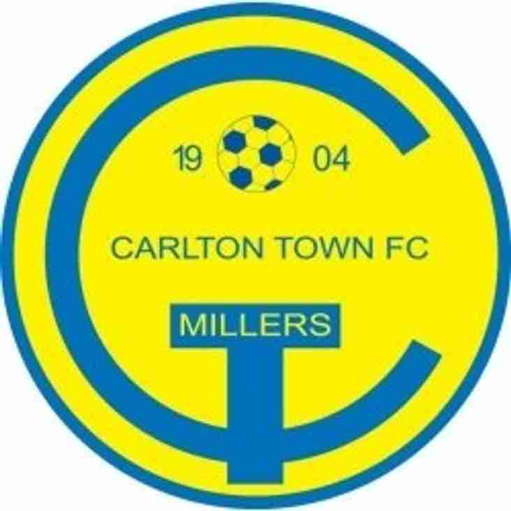 Carlton Town game on Saturday