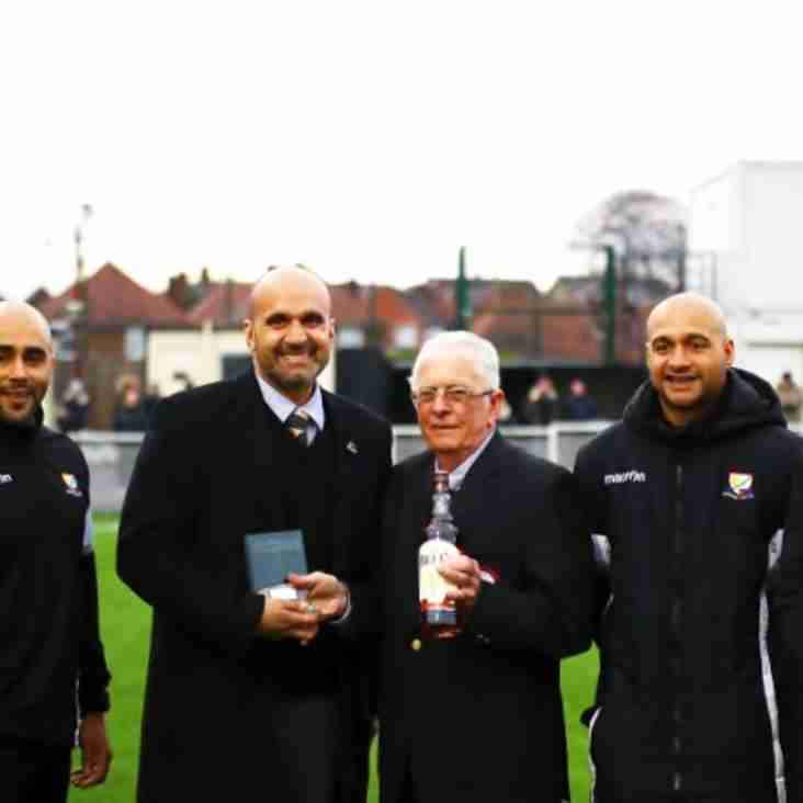 Club receives Club Of Month award