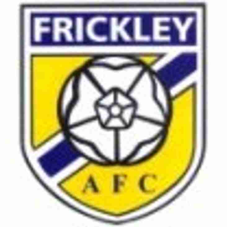 Saturday: First team at Frickley, CFC go to Southwell