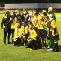 Cup triumph for Under 15s