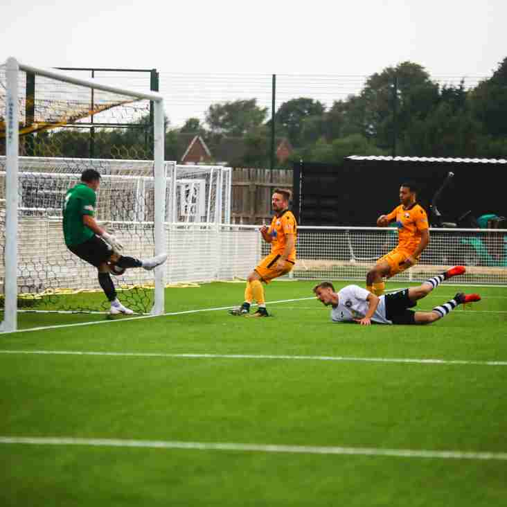 Grantham on target as Basford draw with Linnets