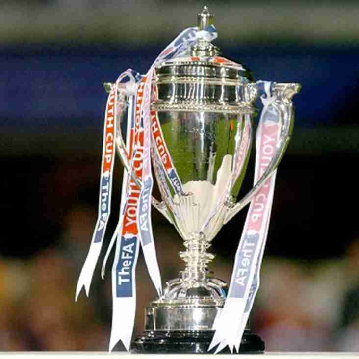 FA Youth Cup tie at Long Eaton next Tuesday