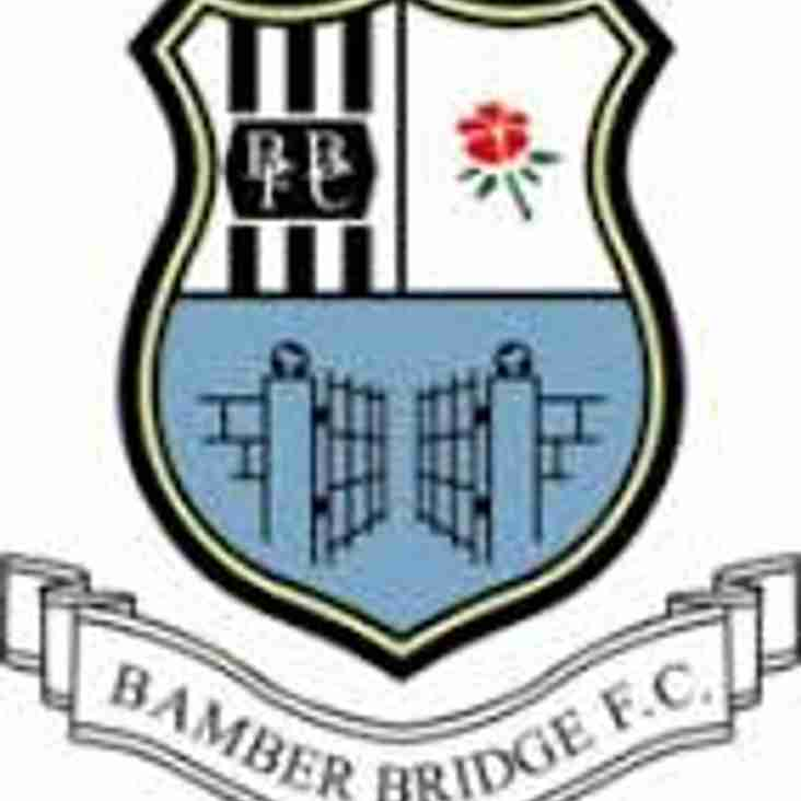 Basford head to Bamber Bridge Saturday