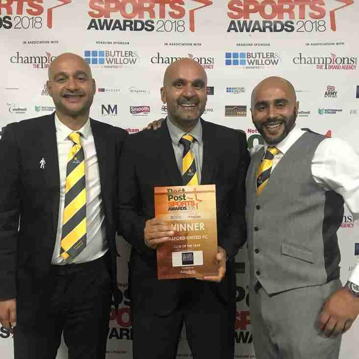 Basford are Club of the Year