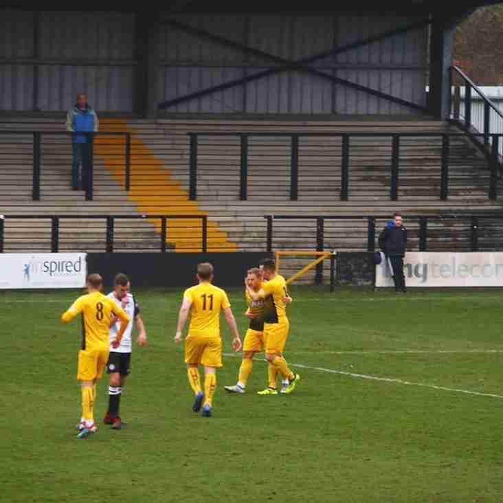 Basford beaten at Hednesford