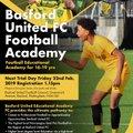 Academy trials Friday 22 February