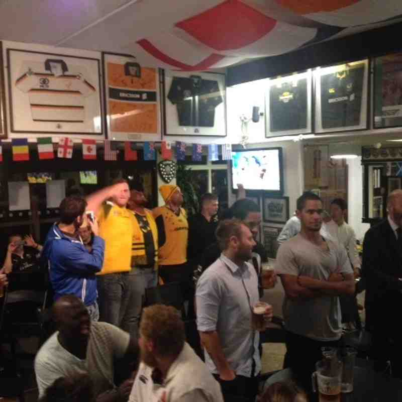 England v Australia at Wasps FC Saturday 3 October 2015