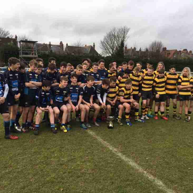 Wasps FC U15 Charity Cup Raises Funds for The Dallaglio Foundation