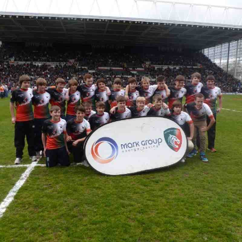 Under 14's Leicester Rugby Tour 2012!
