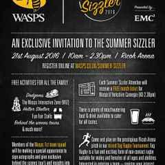 Wasps Summer Sizzler