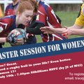 Rugby Taster session for women and girls 13+