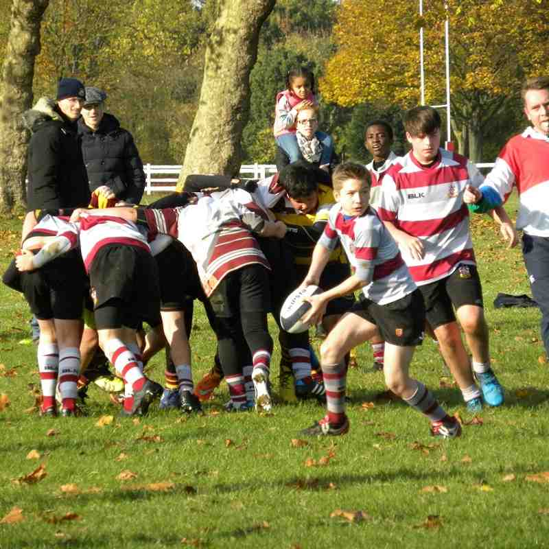 U13's v Westcliff Pitch 4 - Sun 13 Nov 2016