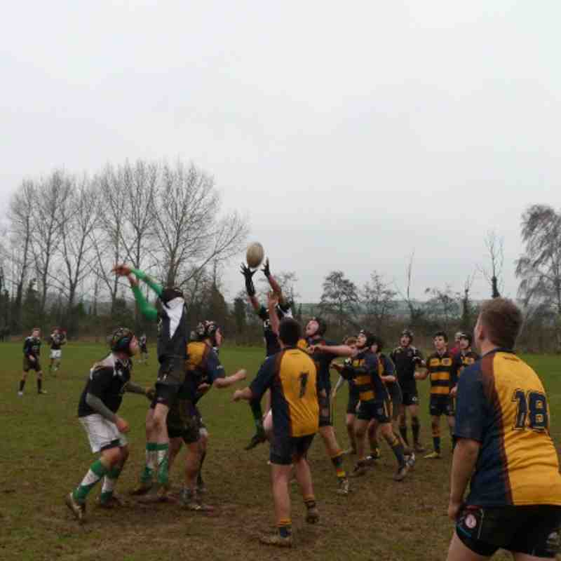 Horsham U15 V Worthing B 120114