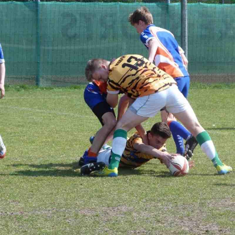 U15 Holland 2014 - Diss RFC @ Hilversum
