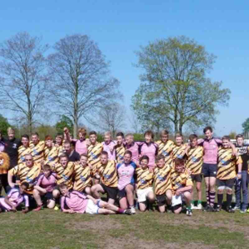 U15 Holland 2014 -The Pink Panthers