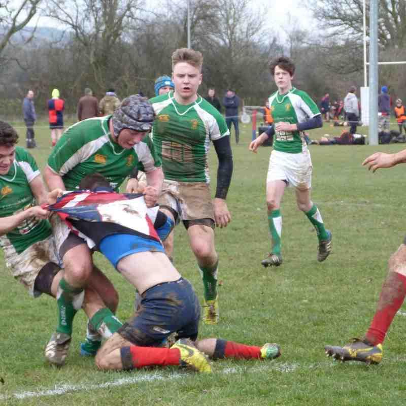 Horsham U16 V Cranleigh 25 Jan 15