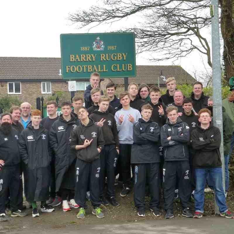 Horsham U16 V Barry RFC 280315