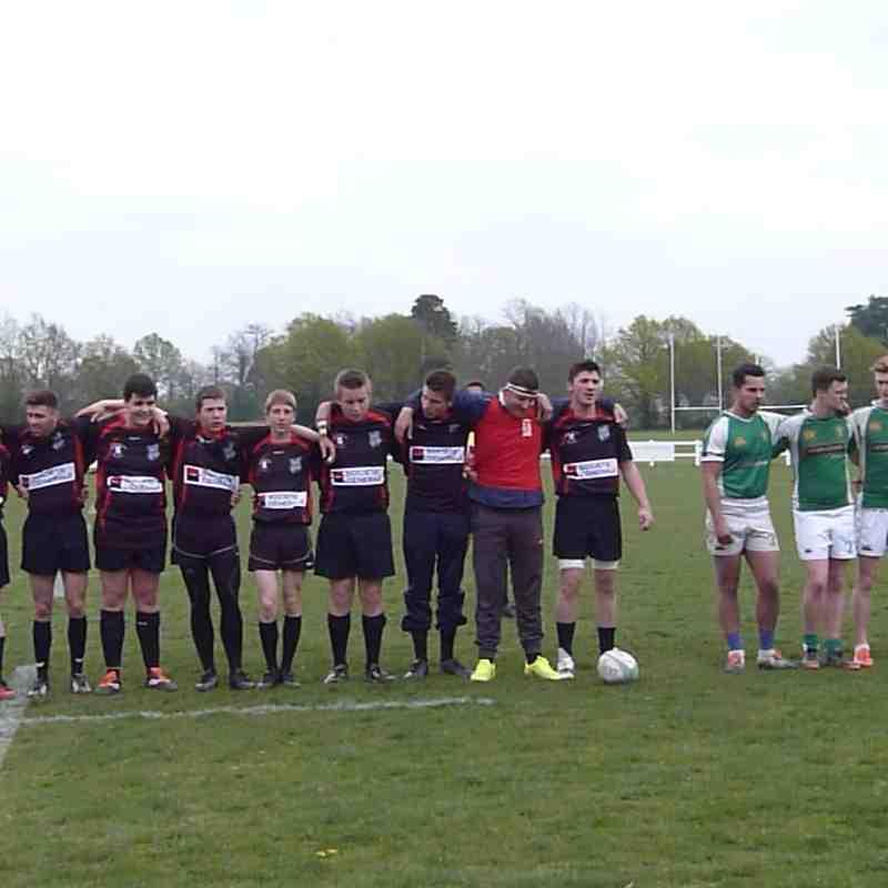 U16/Colts V Saint Maixent 020515