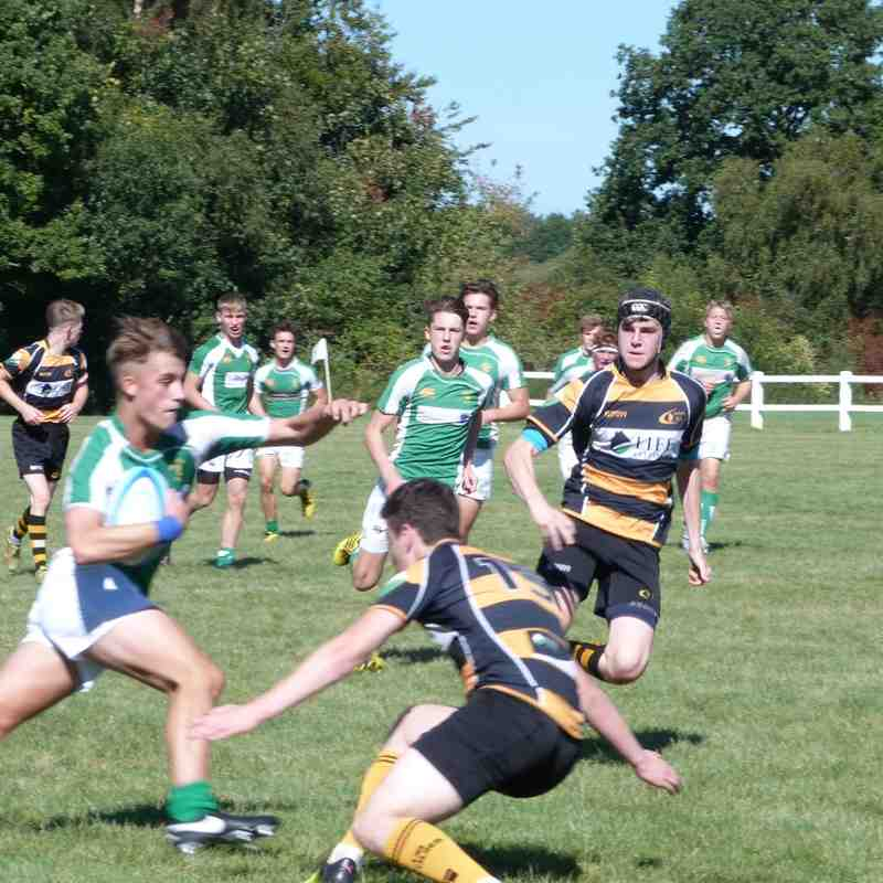 Horsham Colts V Camberley 9th Sept 2016