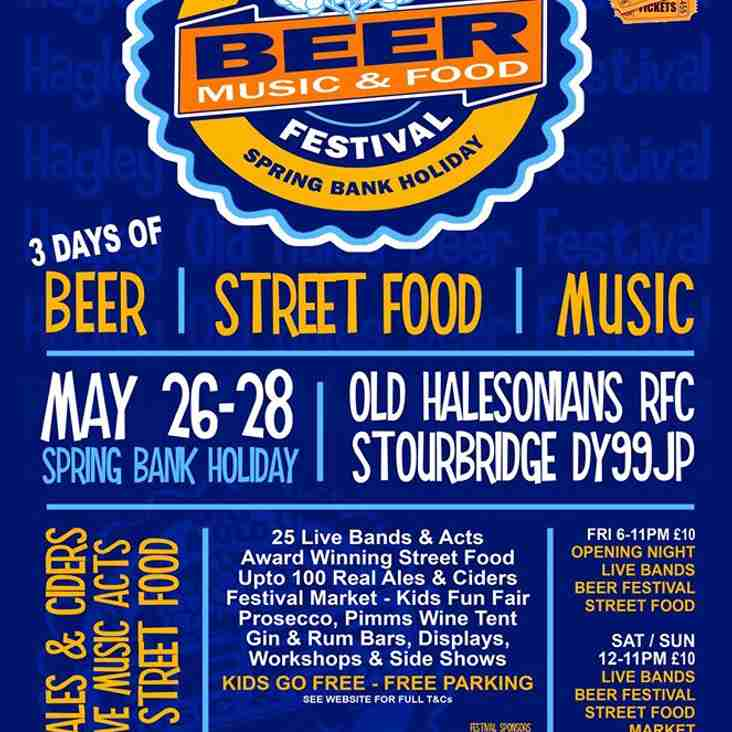 Hagley & Old Hales Beer, Music & Street Food Festival