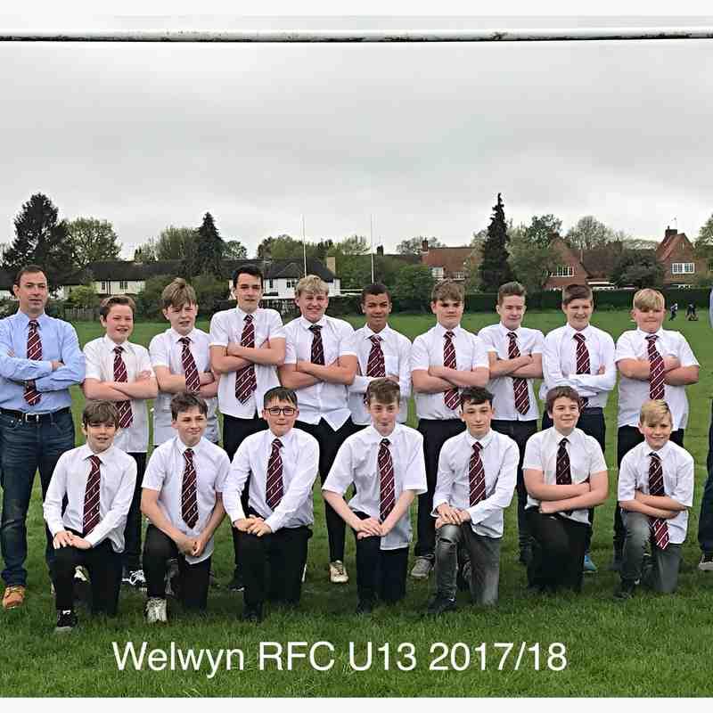 Welwyn U13 2017/18