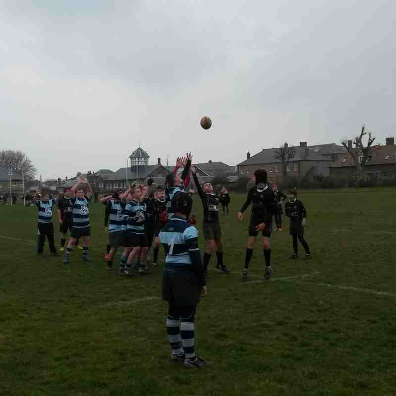 Under 13's v Dover - 15th March 2015