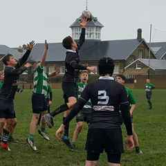 Disappointing defeat for the U14s