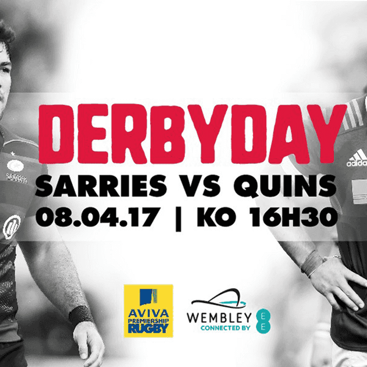 Watch Sarries vs Quins at Wembley in 2017