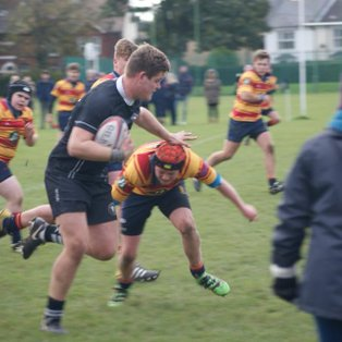 U16s victorious at home