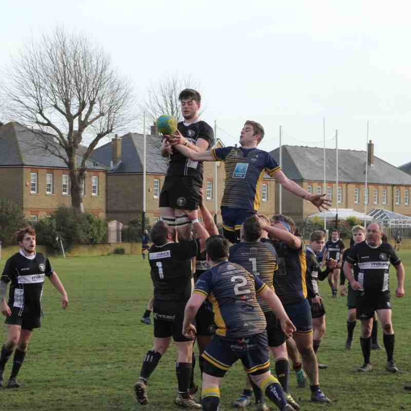 2nds vs Thanet (Home) - 02/03/2019