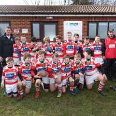 Under 12's Win Scunthorpe RUFC Tournament