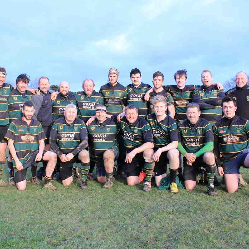 FCRFC 3rds vs Barton Hill 31/01/2015