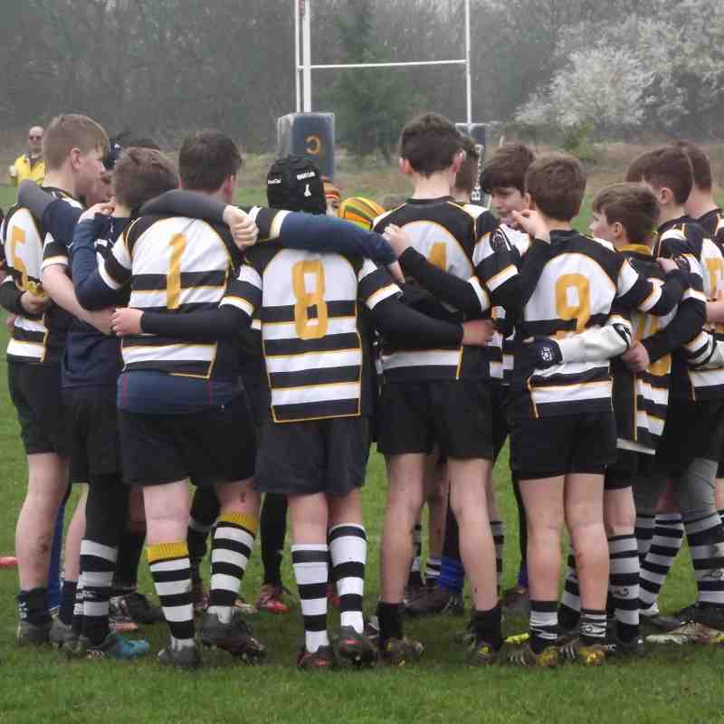 R&H U13s v Old Scouts 12th Marcvh 2017