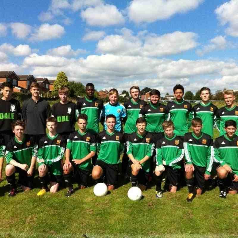 Bolton Wyresdale U18's 2014-15