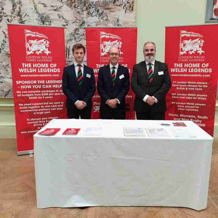London Welsh, Chestertons & The Royal Academy