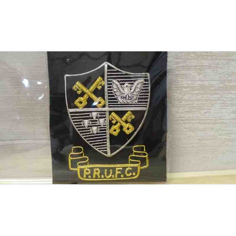 PRUFC sew on emblem badge