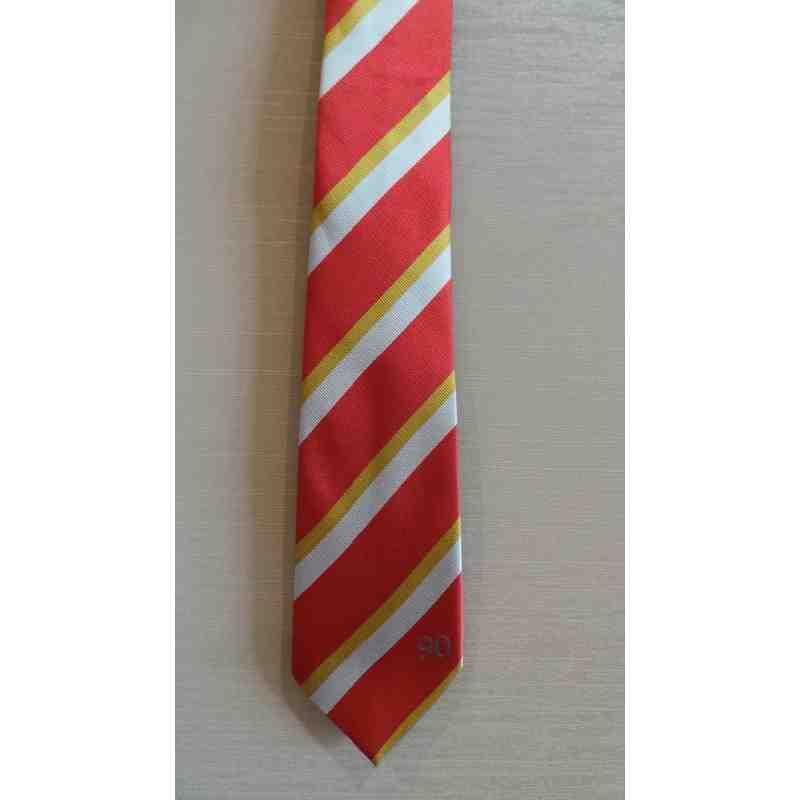 90th anniversary tie