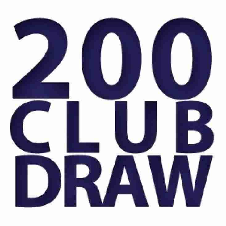 200 Club winners November 2018