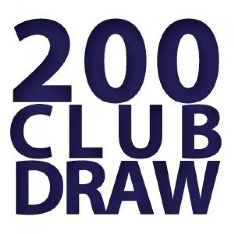 200 Club Winners - July 2018