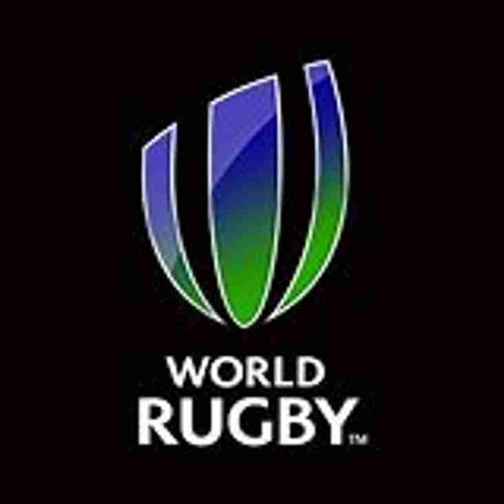 Amendments to the World Rugby Laws of the Game