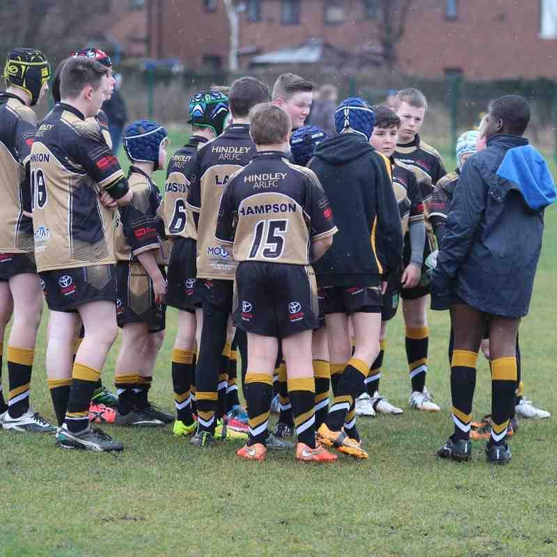 U13s v Oldham St Annes 8-3-15