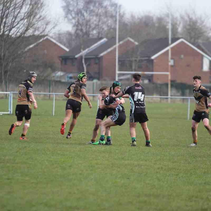 u16s v Wigan St Pats 13-3-16