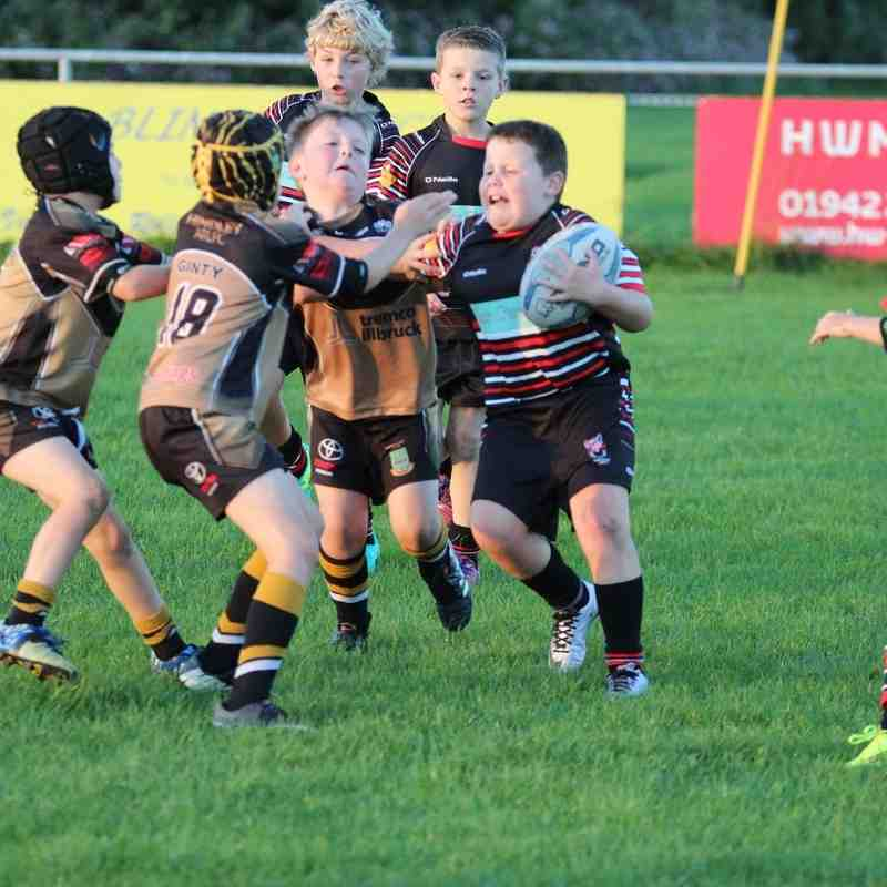 u8s v Ashton Bears and Leigh East 16-9-16