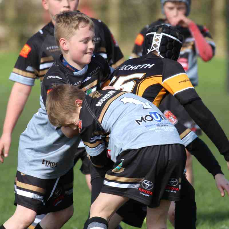 u11s v Culcheth Eagles  2-4-17
