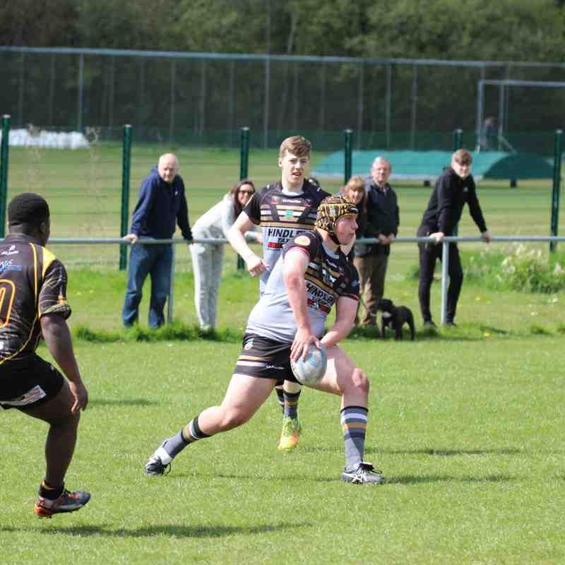 u17s v Salford City Roosters 23-4-17