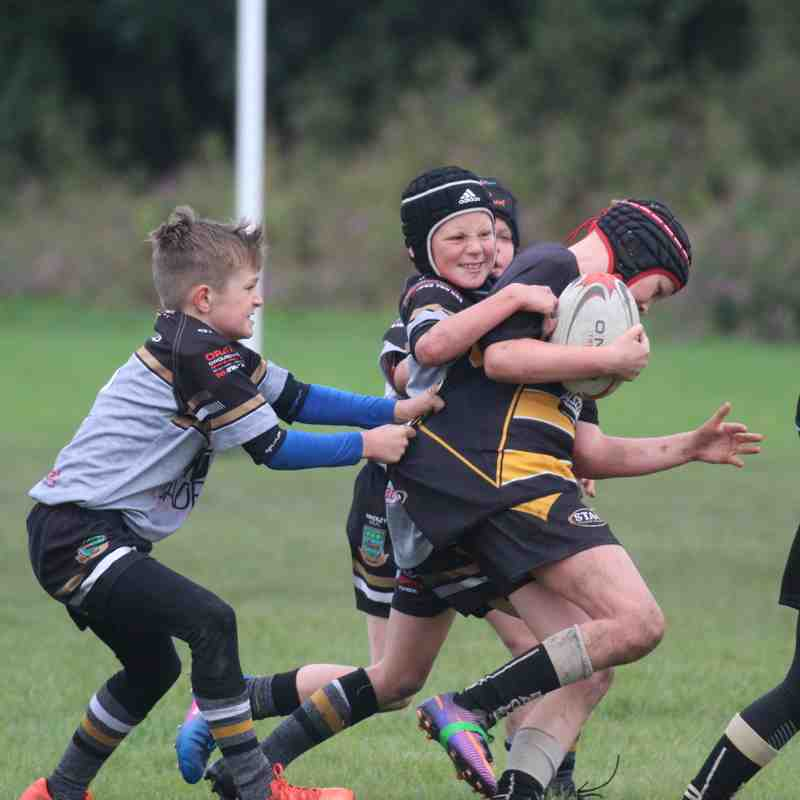 u9s v Culcheth Eagles 24-9-17