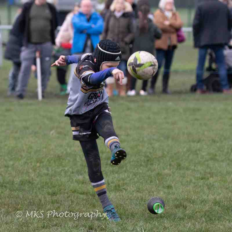 u10s (Blacks) v Orrell St James 8-4-18